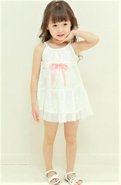 近全新正韓11號童裝Amber 吊帶裙 size 11 超美!!