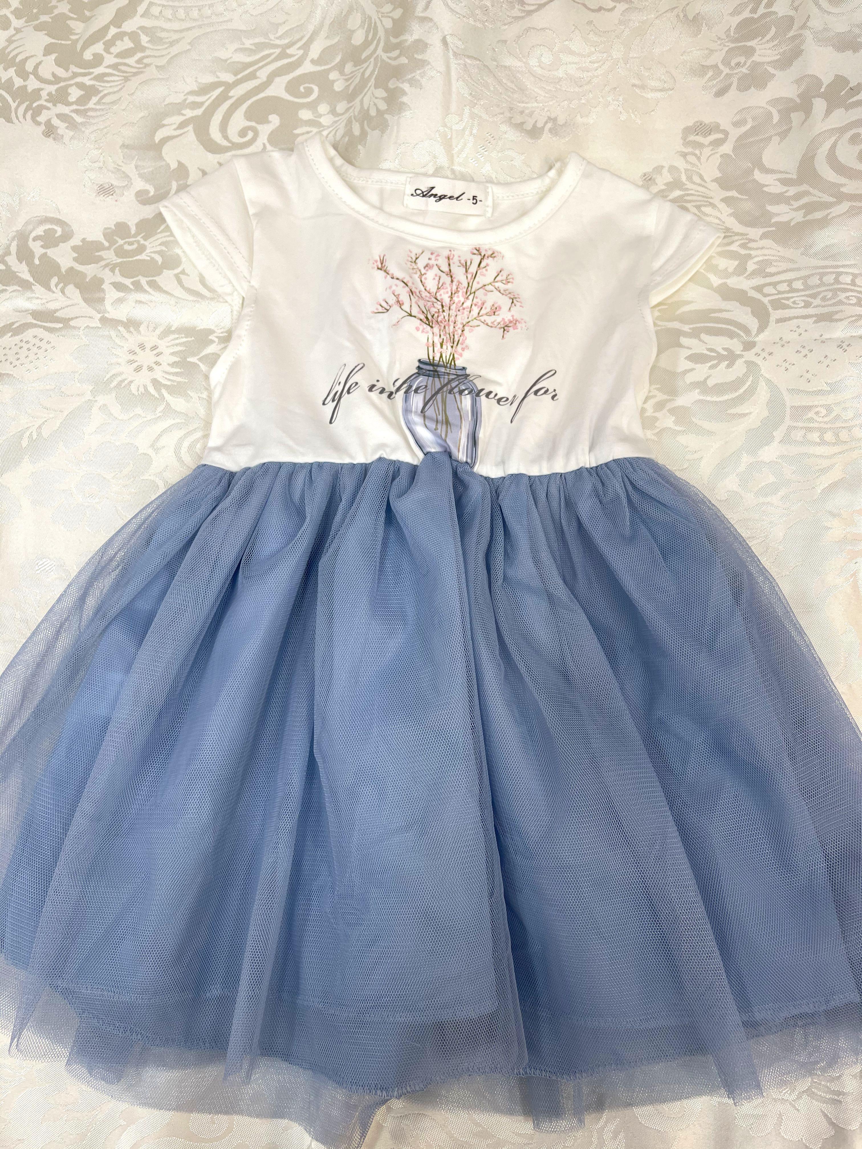 短袖紗裙洋裝👗