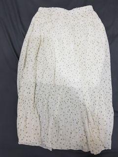 碎花雪紡裙