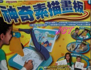 神奇素描板 非全新 零件完整 乾淨 兒童素描板