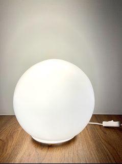 [二手/燈具] IKEA FADO 桌燈 檯燈 氣氛燈 白色 北市自取