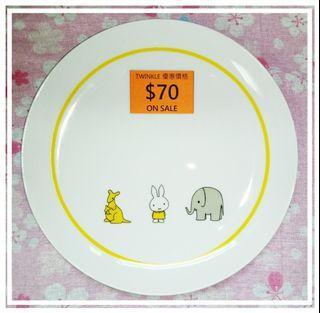 已絕版 Miffy x Lawson 換購版 橙色盒 碟 19cm直徑 2009年出品