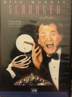 回到過去 Scrooger  稀有DVD 比爾莫瑞