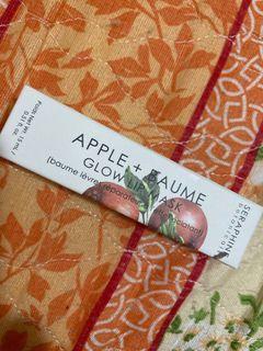 Apple + Baume Glow lip mask