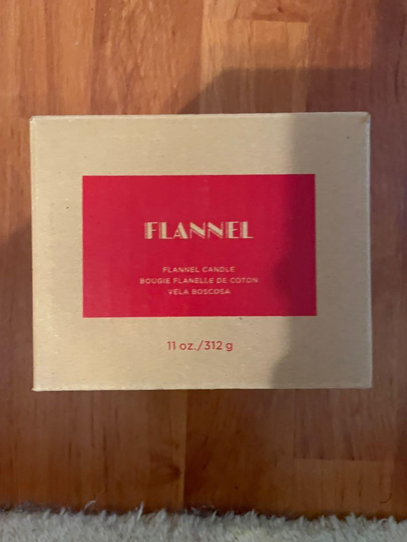 Avon flannel candle