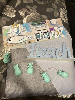 Beach decor bundle