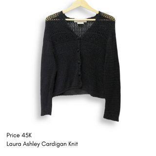 Black Cardigan Knit