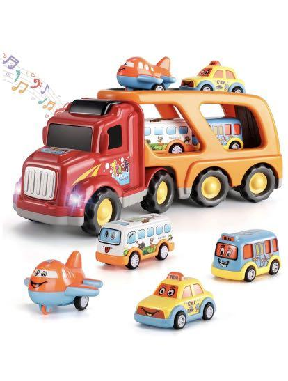 Brand new Truck Transport Car Play Vehicles Toys - 5 in 1 Friction Power Set