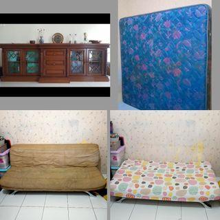 Bufet tv spring bed sofabed jual borongan