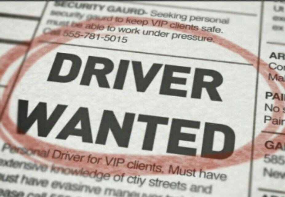 Delivery Drivers Needed! $2500! Start work immediately!