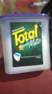Detergen bubuk Total Matic 1kg