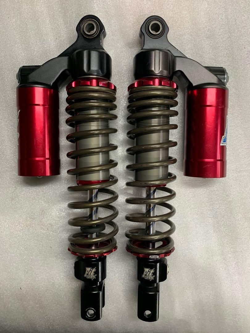 Fitshox 325mm 氣瓶&阻尼可調後避震