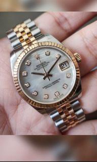 FULL SET 178271 Rolex 31mm Datejust 2014