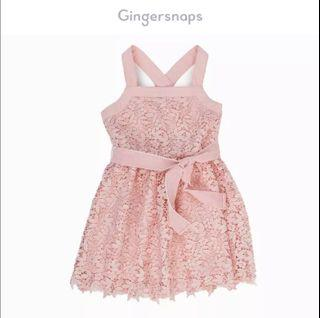Gingersnaps Pink Lace Dress