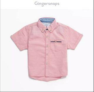 Gingersnaps Pink Polo