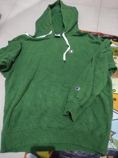 Hoodie Champion Green