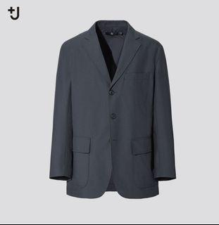 3月上市 原價5990 Jil sander 聯名 plusj +j uniqlo 羊毛混紡寬版外套 西裝外套