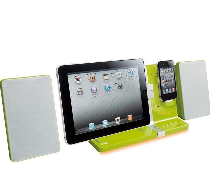 JVC UX-VJ5  iPhone/iPad/iPod 多媒體組合音響