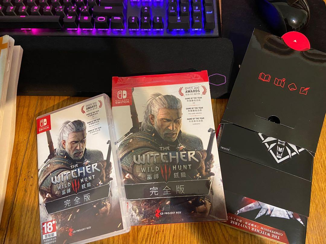 [NS] 可小刀 the Witcher 巫師3 狂獵 完全版 二手