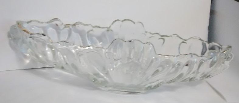 Pare of Depression glass salad dishes , Viking pattern
