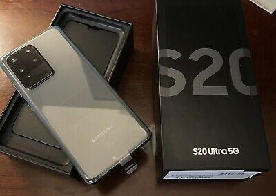 Samsung Galaxy S20 Ultra 5G SM-G988U - 128GB - Cosmic Grey (Unlocked)