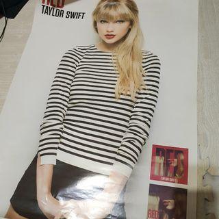 Taylor Swift RED 海報