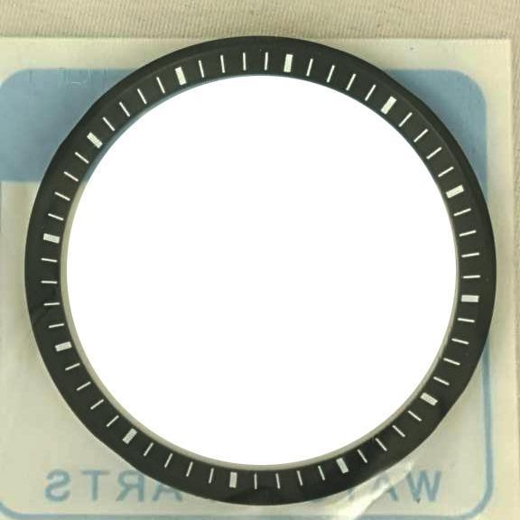 WTB: Turtle chapter ring Seiko SRP777 SRP777k1 black & white dive watch skx007