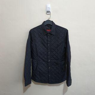 Zara Quilted Shirt Jacket