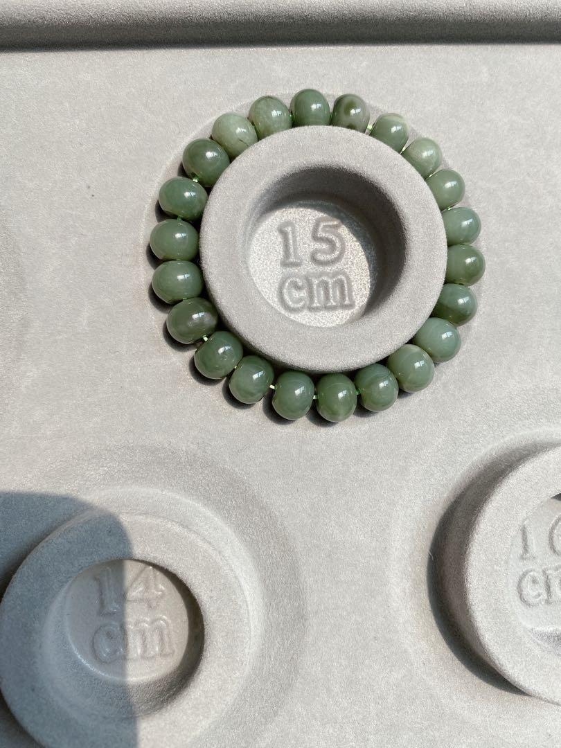 10mm 古型珠 緬甸玉