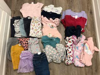 18-24 month large clothing lot