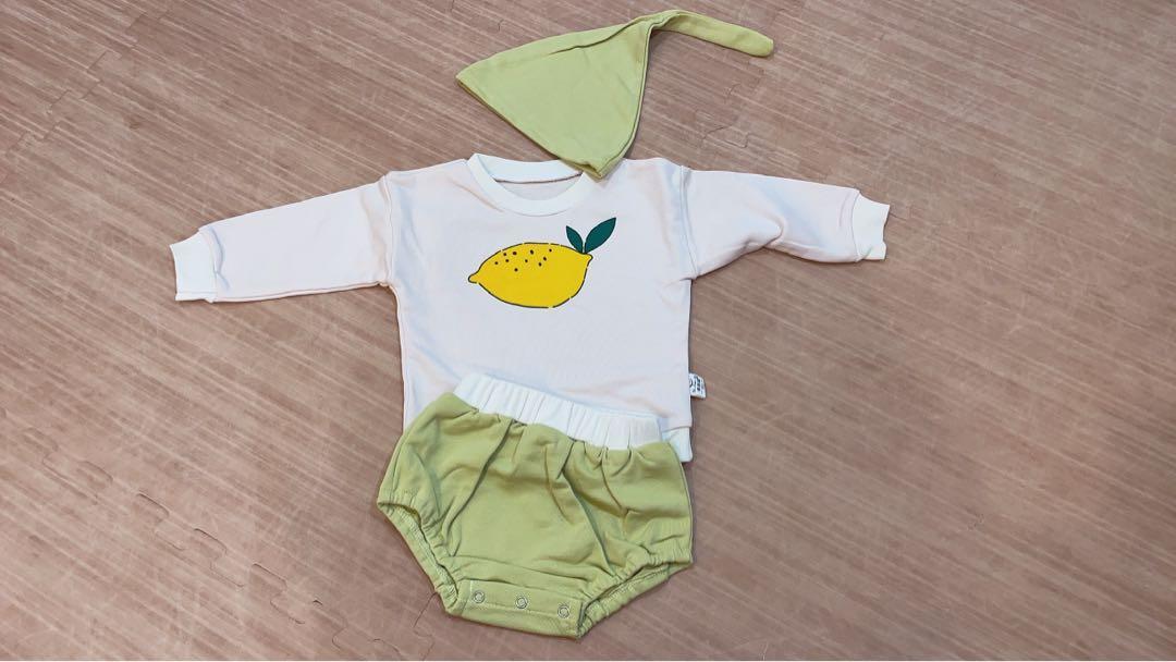 小朋友童裝水果套裝90cm及80cm