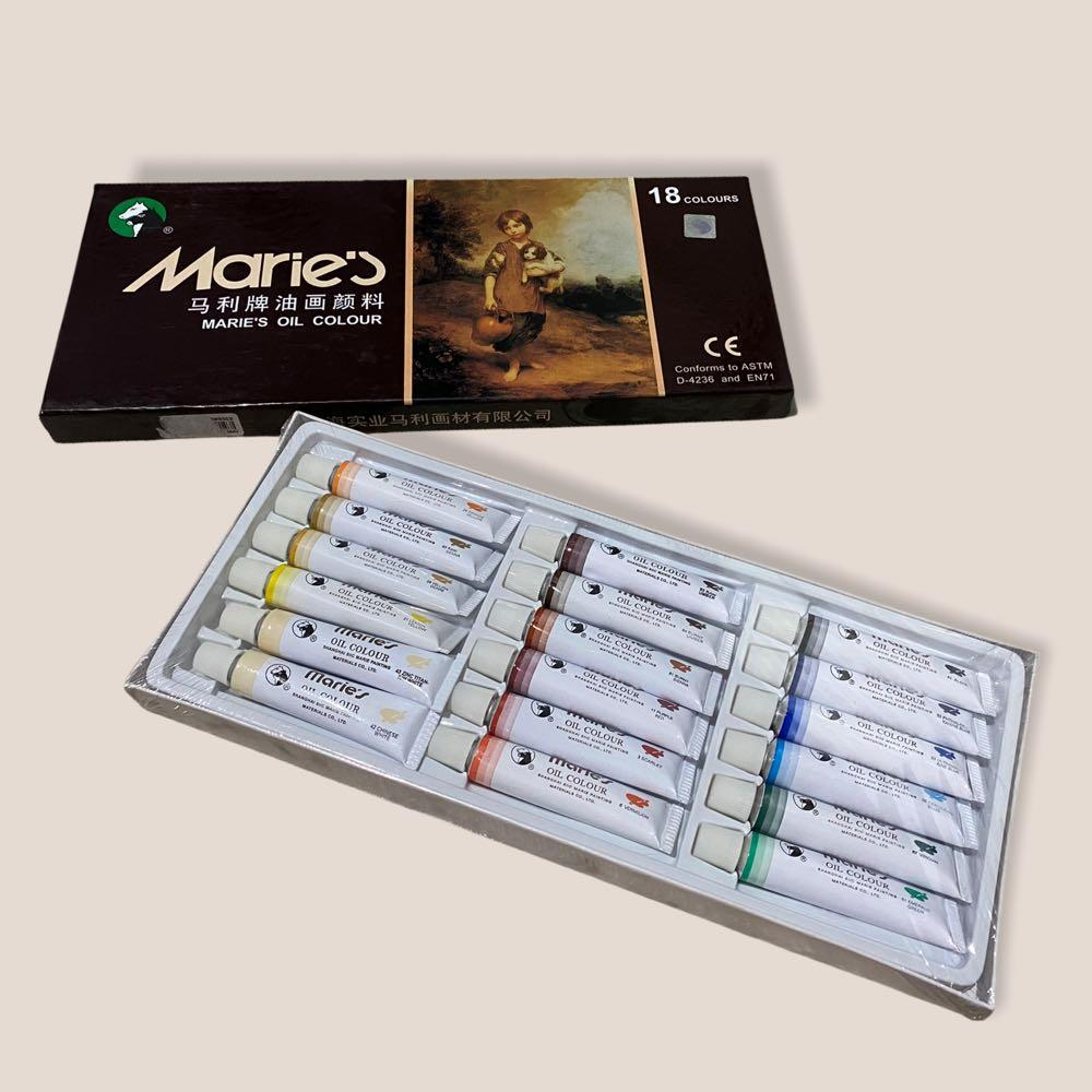 [ Marie's ] Maries oil colour isi 18 12 ml E1388A