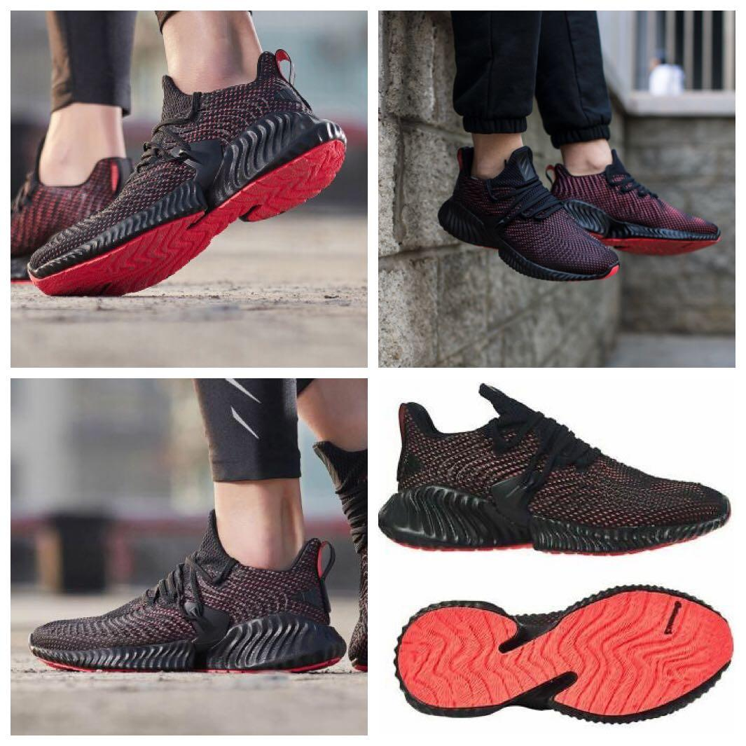 Adidas 男慢跑鞋 休閒鞋 Alphabounce Instinct Training Running Shoes