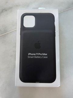 Apple original iphone 11 pro max smart batt case black