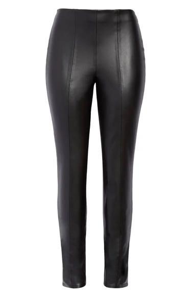 BNWT Nordstrom Faux Leather Pants size 25
