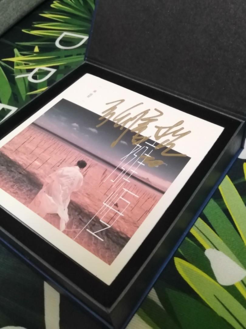 張信哲親筆簽名CD-擁恆專輯(送廠商訂製精裝禮盒與簽名照乙張)