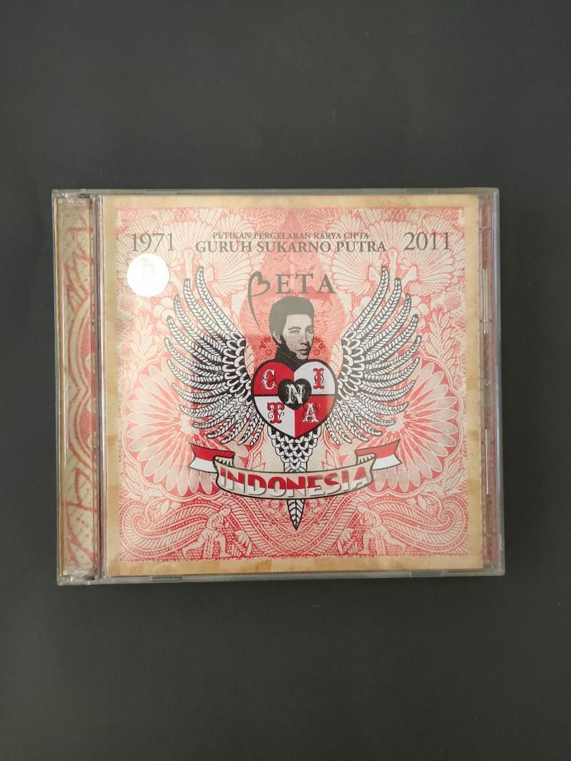 CD album Guruh Soekarno Putra