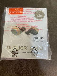 Creative Outlier Gold Wireless Ear Pcs