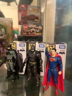 多美DC蝙蝠俠超人公仔