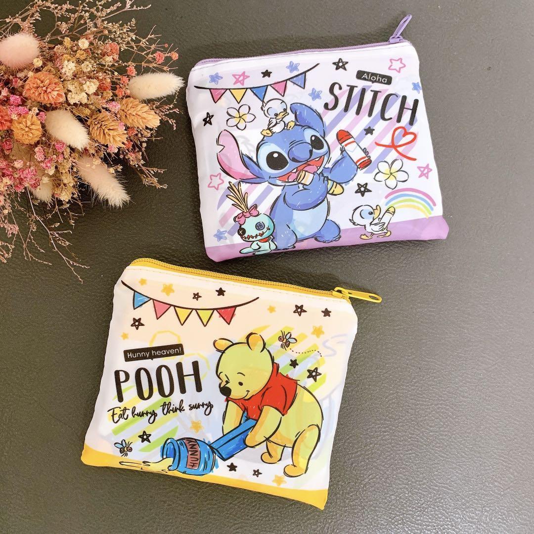 ♻️Disney 迪士尼 小熊維尼 史迪奇 特別款 高質感 折疊購物袋 環保袋購物袋 購物袋 萬用袋 提袋
