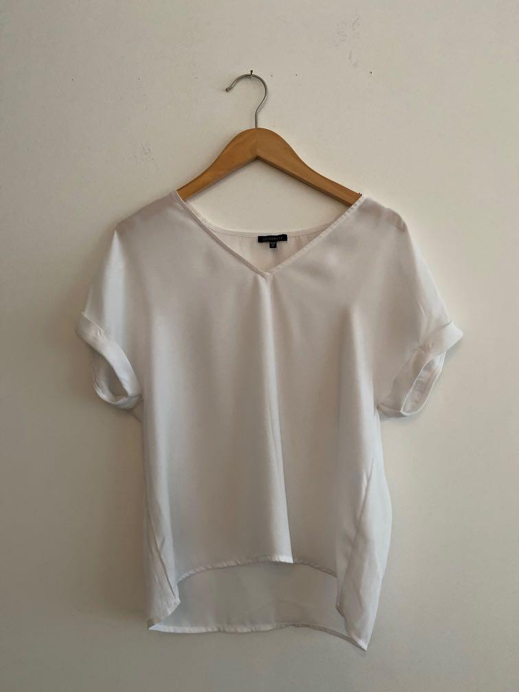 DYNAMITE blouse - white