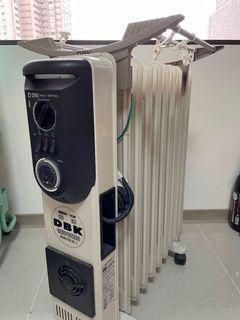 二手嘉儀HELLER葉片式恆溫電暖爐 需要自取