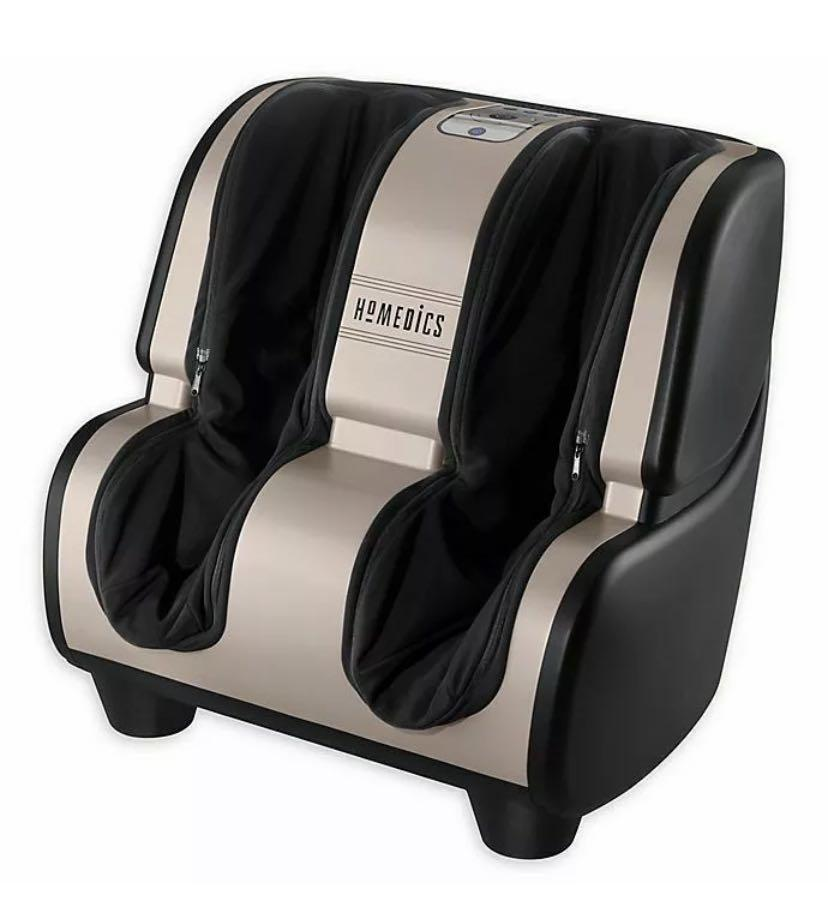 HoMedics Therapist Select 2.0 Foot and Calf Massager with Heat