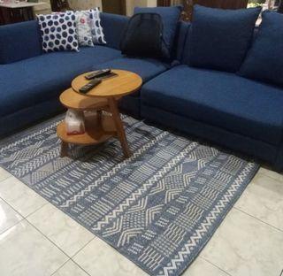 Karpet anyaman asli 120x170