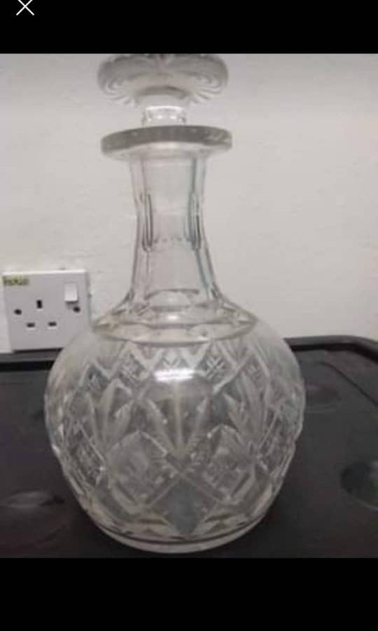 kristal wine decanter(take both rm200)