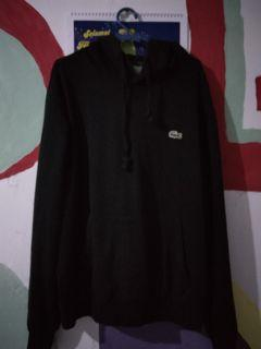 Lacoste hoodie small logo