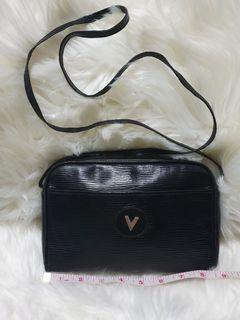 Mario Valentino Sling Bag Epi Leather