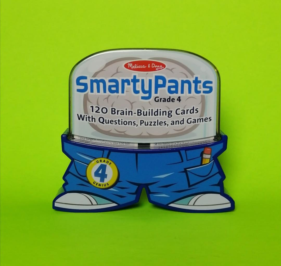 Melissa & Doug Smarty Pants Card Set