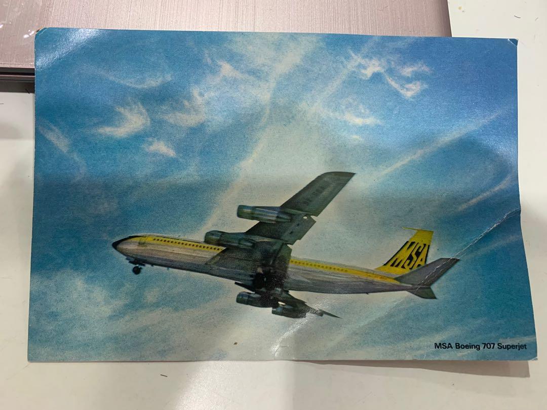 MSA Postcard