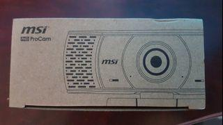 MSI微星FHD Pro web cam